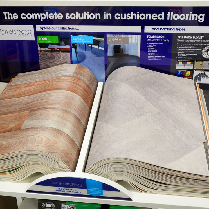 Cushioned Floor Vinyl