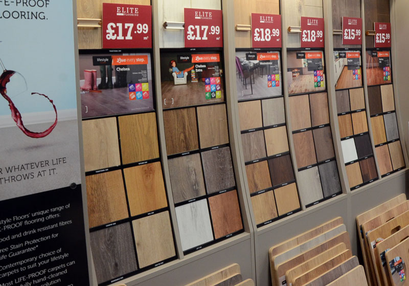 LVT flooring Chester